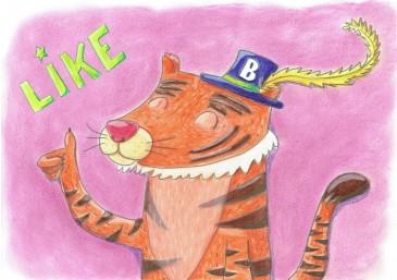 tijger klein